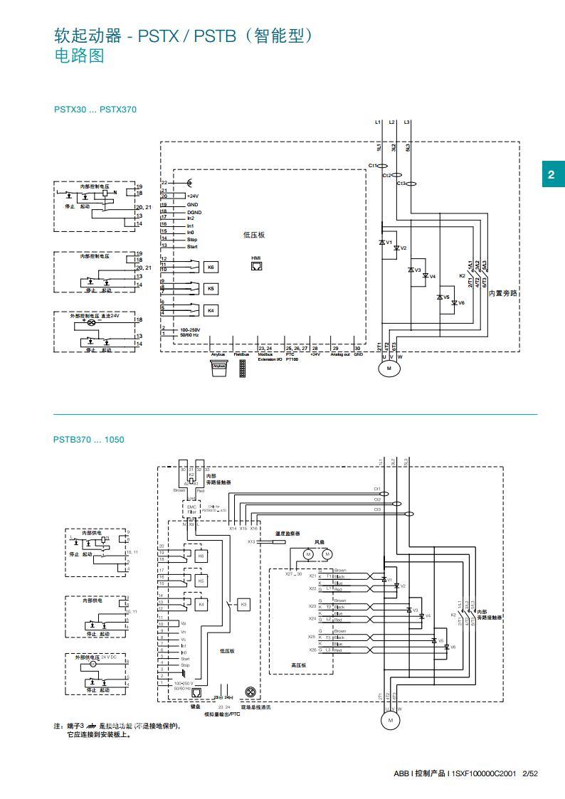 abb软启动器psr30-600-70
