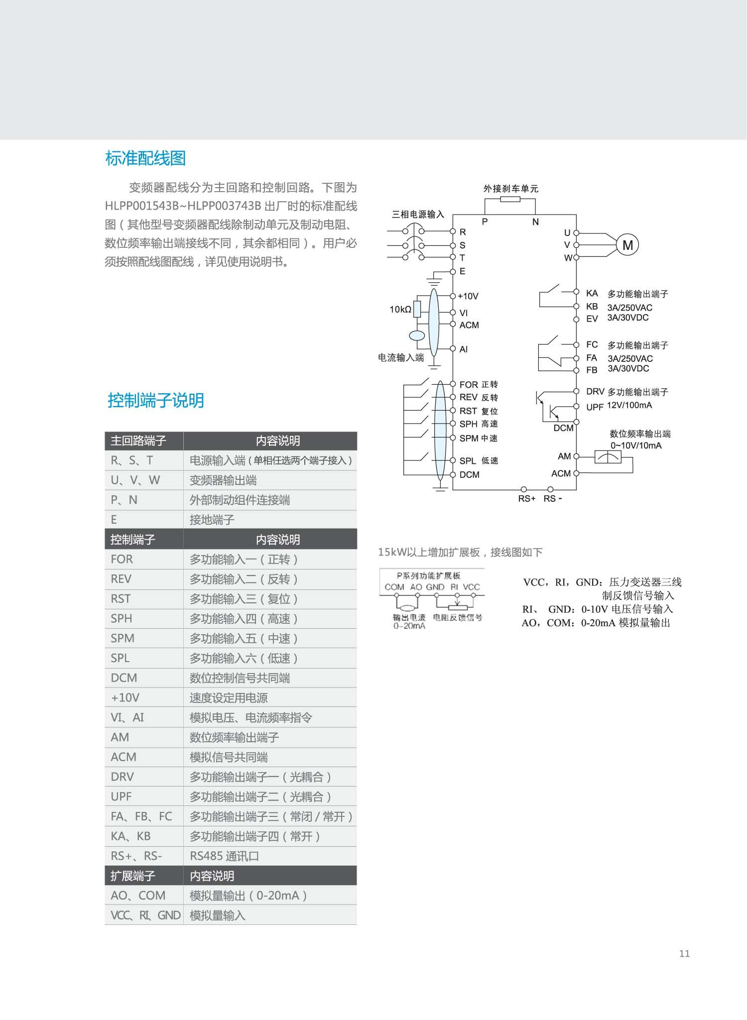 变频器水泵接线