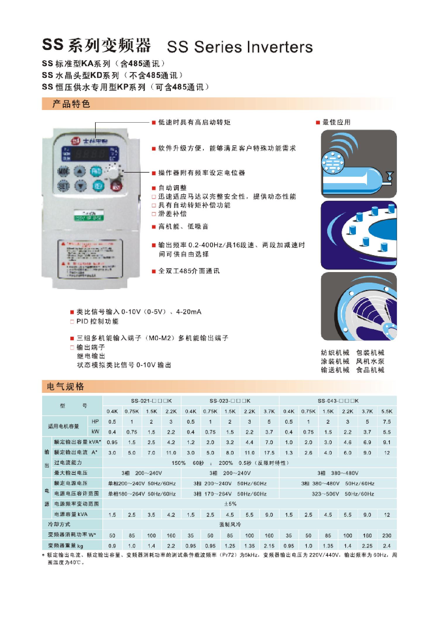 士林变频器资料下载 士林变频器说明书下载